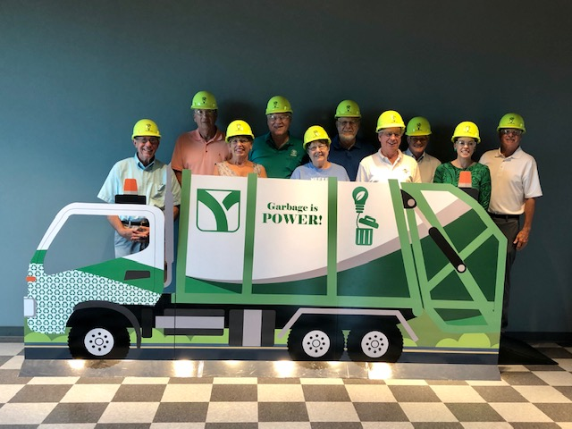Sertoma Club members enjoyed a tour of York County Solid Waste Authority during their member meeting on 7/18/19.